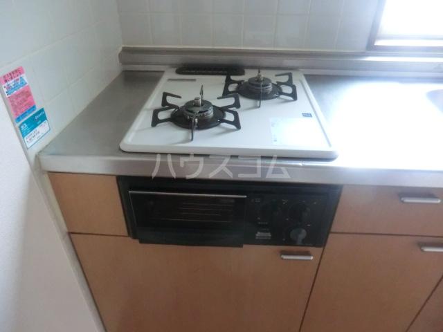 ステーションサイド 201号室のキッチン