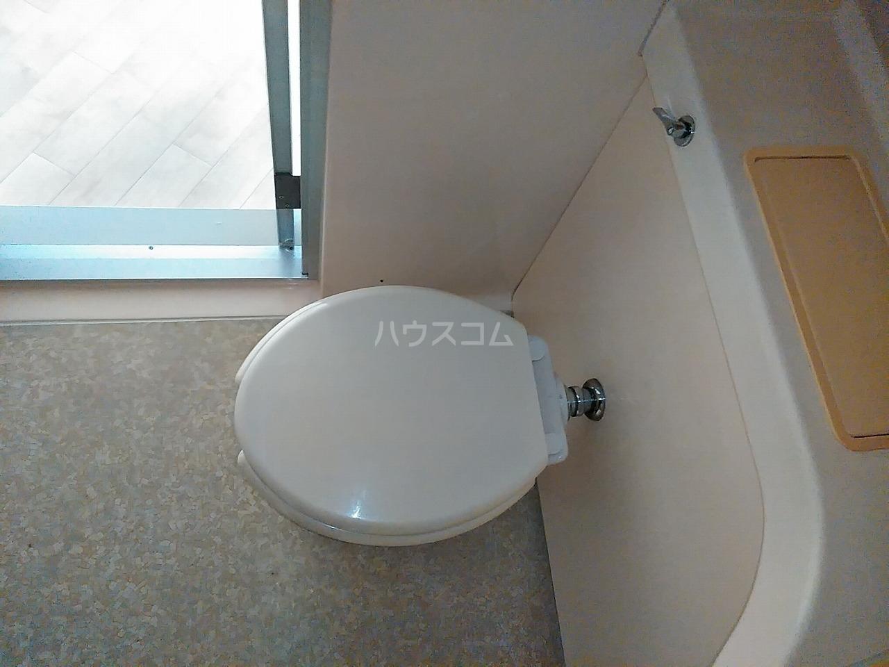 佐々木コーポ 403号室のトイレ