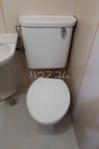 ドール薬師通 403号室のトイレ