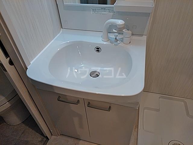 Caldo道徳公園 b 302号室の洗面所