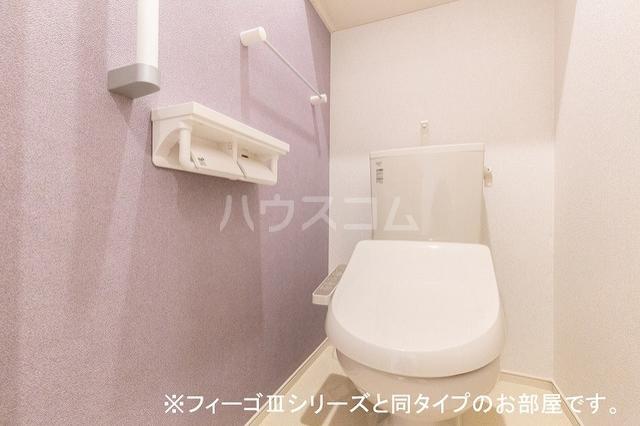 ヴィラ・エスペランサのトイレ