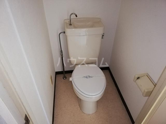 レジデンツFK 101号室のトイレ