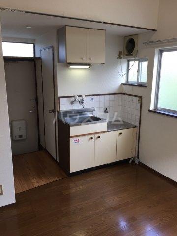 オークランド 101号室のキッチン