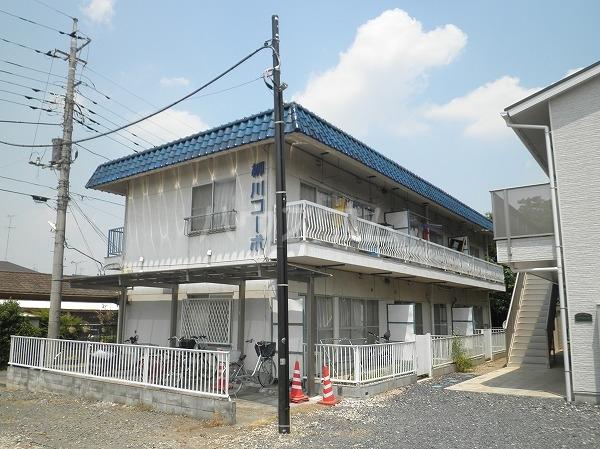 柳川コーポの外観