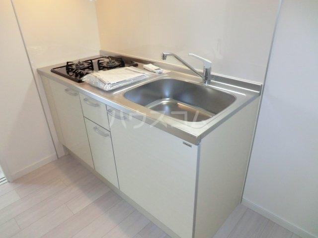 Feliz岸和田 203号室のキッチン