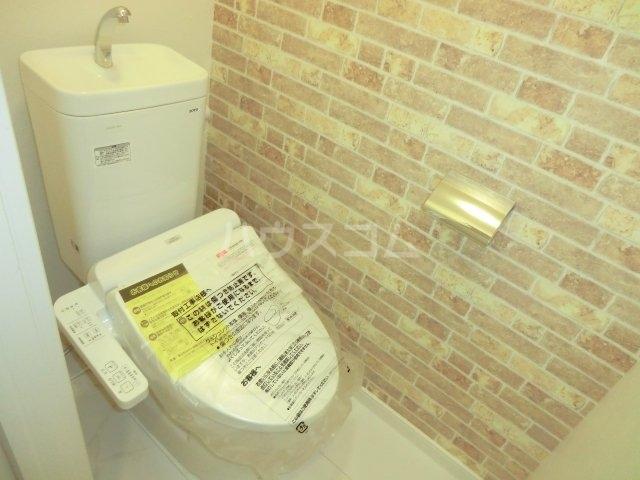 Feliz岸和田 203号室のトイレ