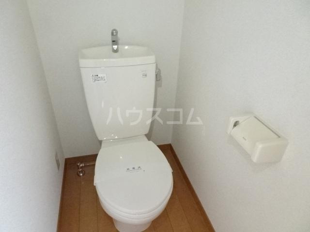 プライムコート 407号室のトイレ