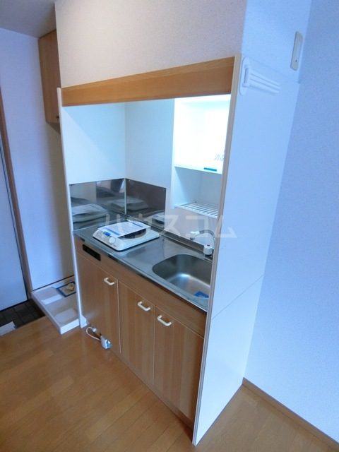 そうりはうす 205号室のキッチン