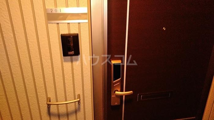ブルースカイTの玄関