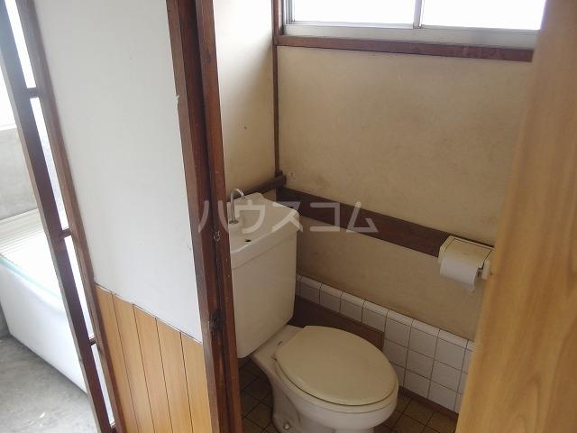 守屋貸家のトイレ