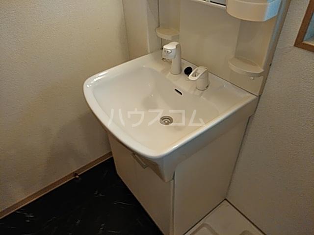 松原マンションの洗面所