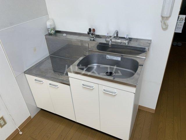コンフォート豊中リバーサイドⅡ 107号室のキッチン