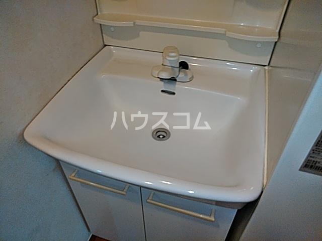 マンションツダの洗面所