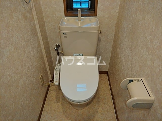 マンションツダのトイレ