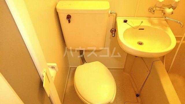 ヴェラハイツ鶴見 205号室のトイレ