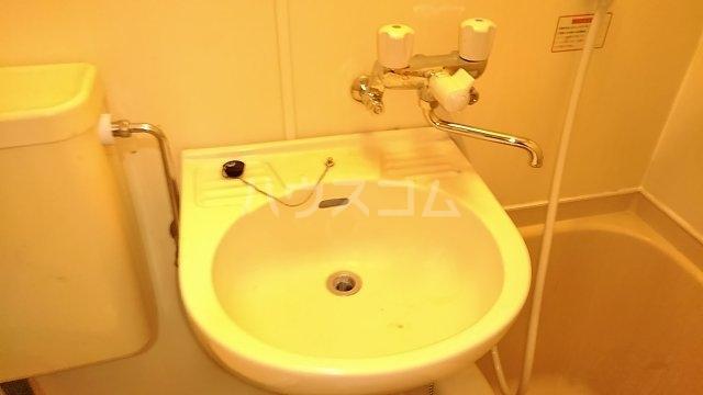 ヴェラハイツ鶴見 205号室の洗面所