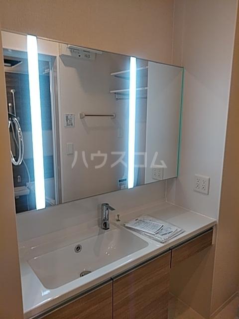 プラムガーデン 102号室の洗面所
