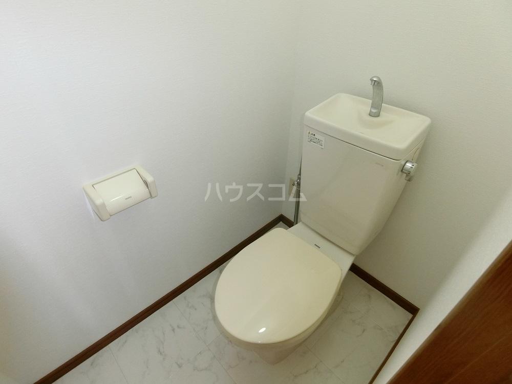 メゾン21 403号室のトイレ