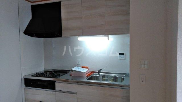 ミソラ荘 101号室のキッチン