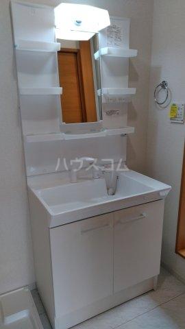 ミソラ荘 201号室の洗面所