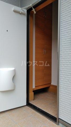 ミソラ荘 201号室の玄関