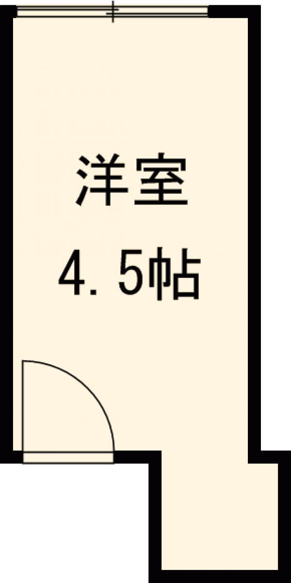 Kハウス早稲田・206号室の間取り