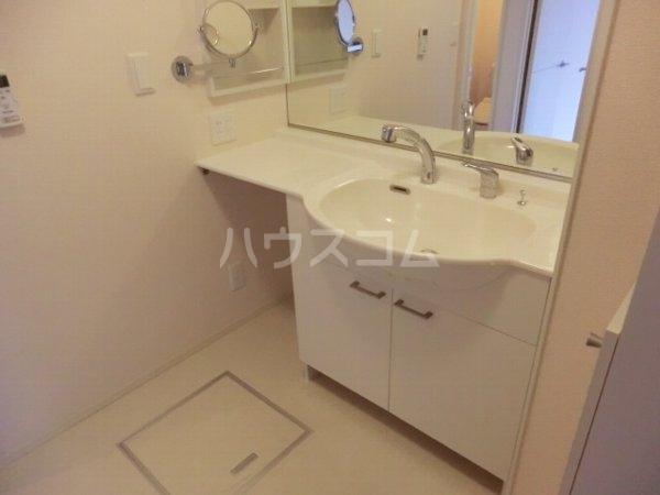 サザンクロス B 101号室の洗面所