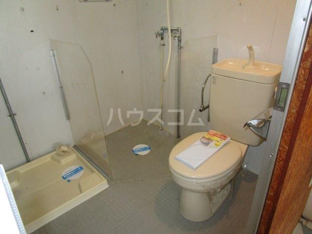 カレッジタウンウィング 228号室のトイレ