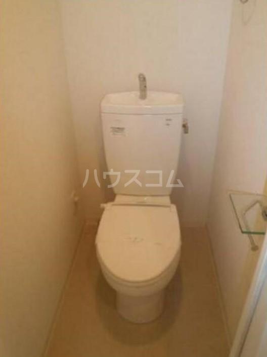 ライズ赤塚 209号室のトイレ