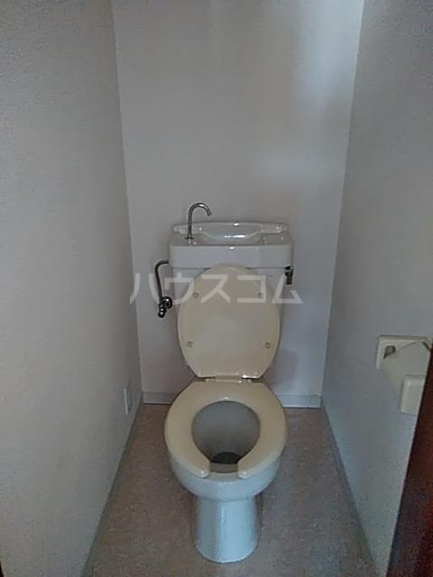 ティファニーハウス大野 202号室のトイレ