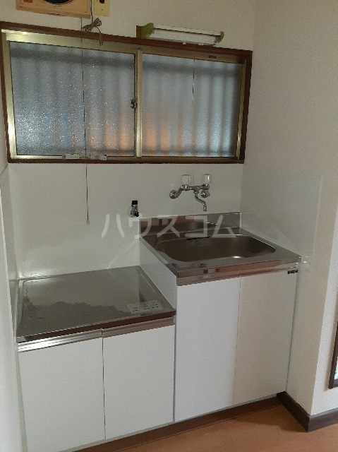 ミドリ荘 A号室のキッチン