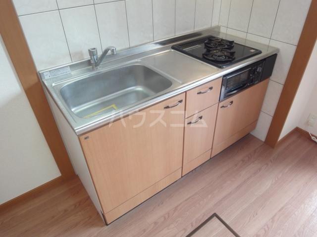 アクアサイドⅡ 201号室のキッチン