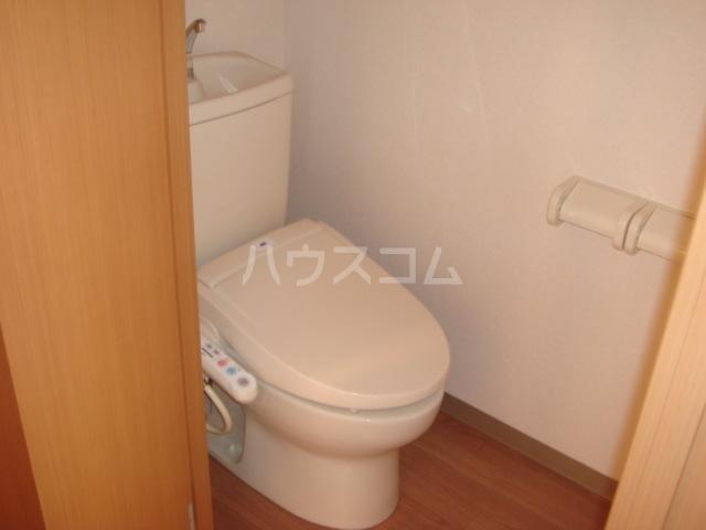 アクアサイドⅡ 201号室のトイレ
