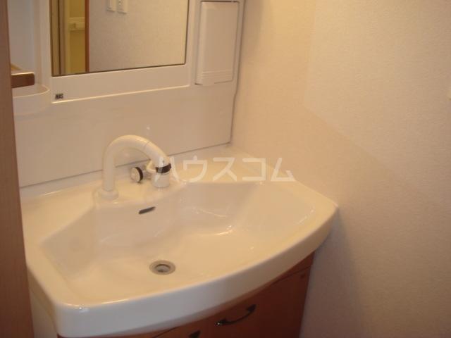 アクアサイドⅡ 201号室の洗面所