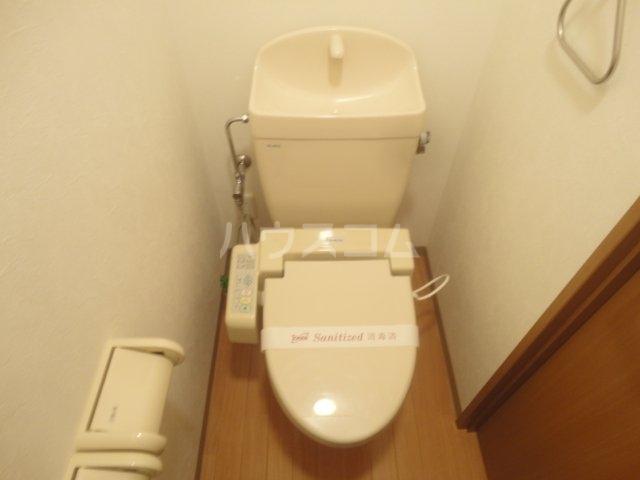 クラーレン ハウス 101号室のトイレ