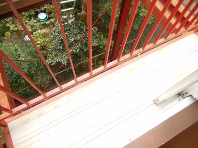 ハイグレード永山 201号室のバルコニー