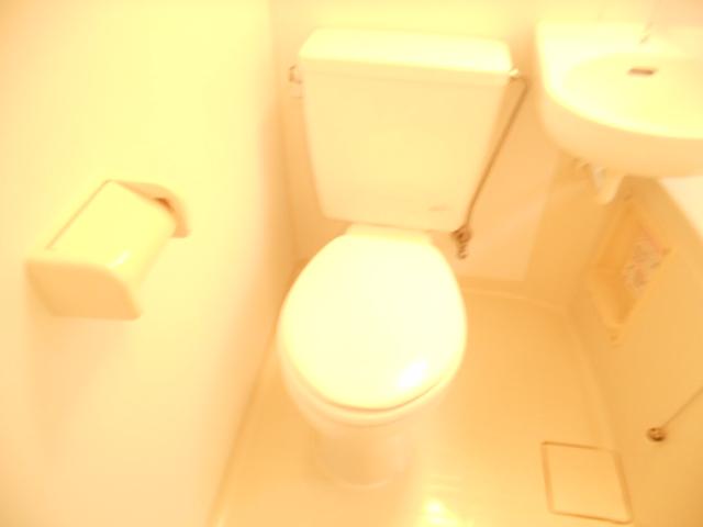 ハイグレード永山 201号室のトイレ