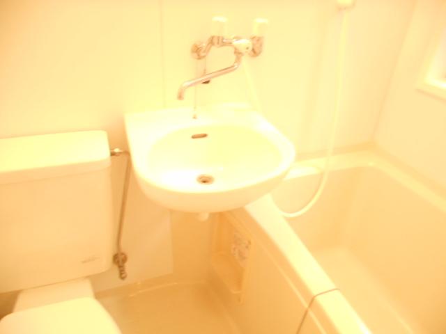 ハイグレード永山 201号室の洗面所