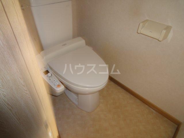 Plume百園 3A号室のトイレ