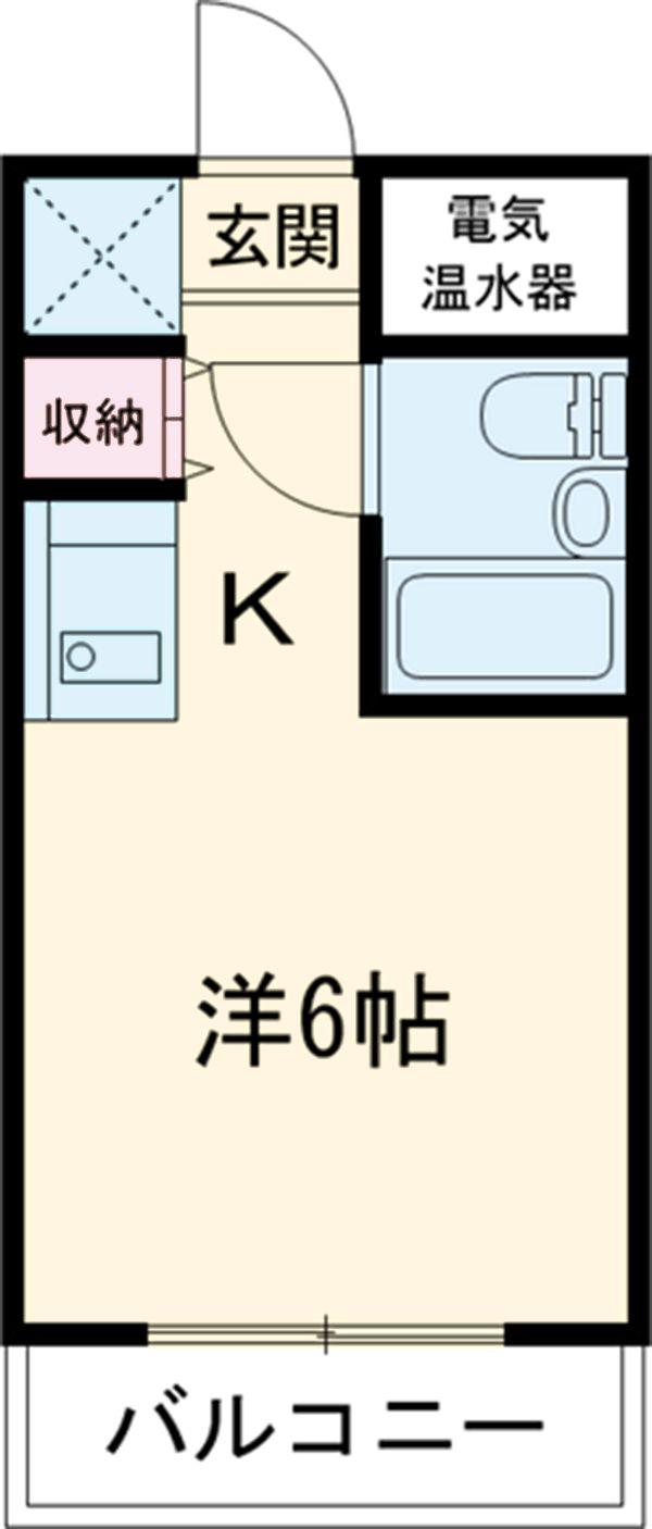 フレスコ永山 303号室の間取り
