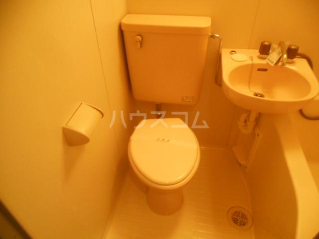 フレスコ永山 303号室のトイレ
