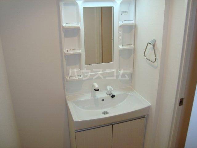 ワンズハート室見 703号室の洗面所