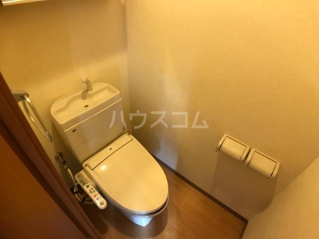 アベリアガーデン 00105号室のトイレ