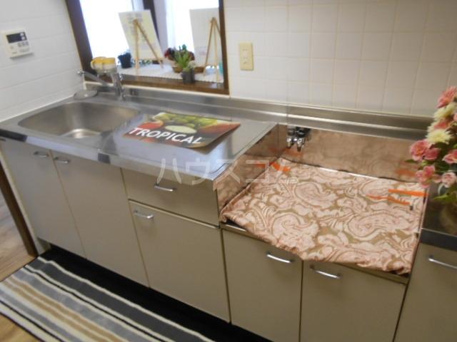 グランドエンブレム横浜 202号室のキッチン