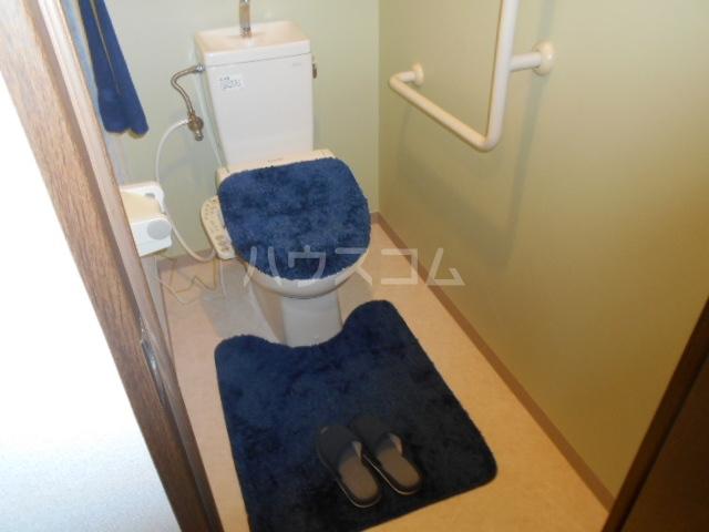グランドエンブレム横浜 202号室のトイレ