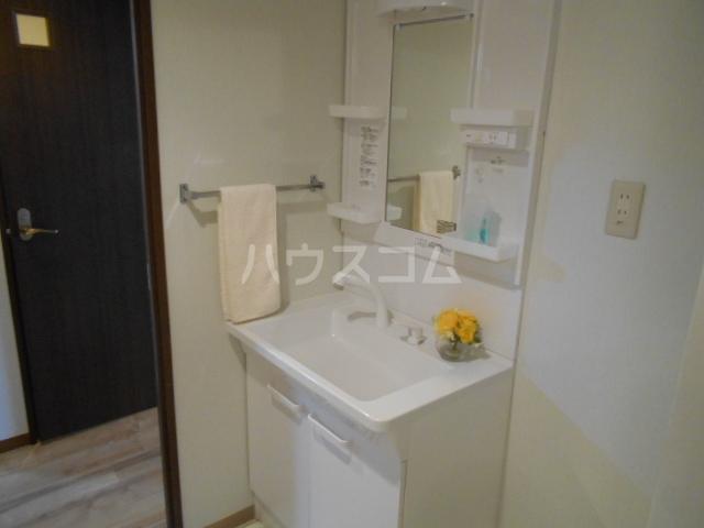 グランドエンブレム横浜 202号室の洗面所