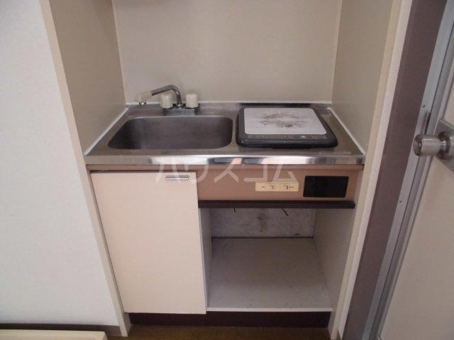 グレーシー西ノ京 401号室のキッチン