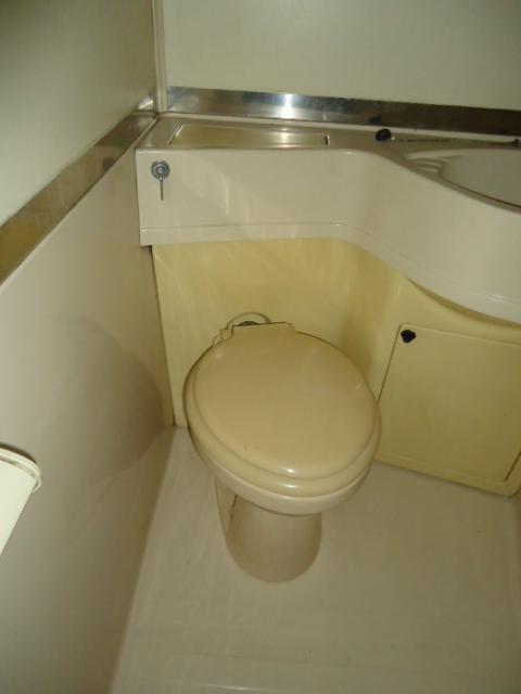 小林ビル 110号室のトイレ