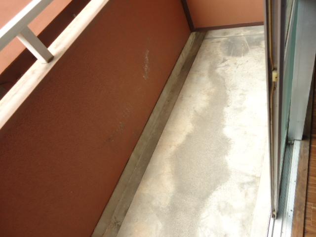 小林ビル 110号室のバルコニー