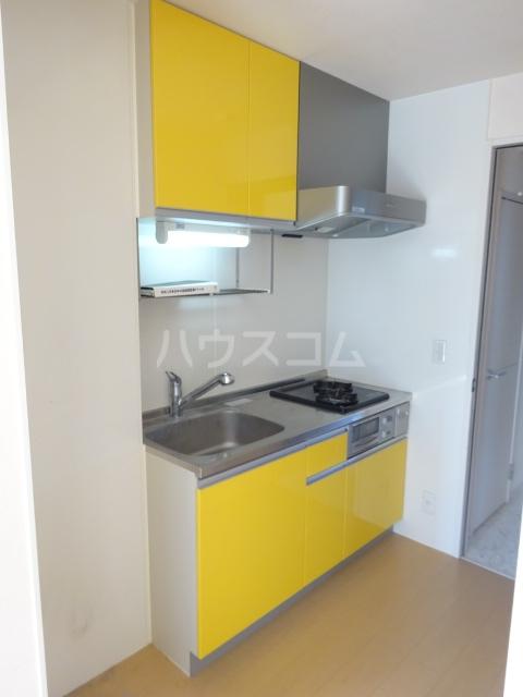 ヴァン・クレール 102号室のキッチン